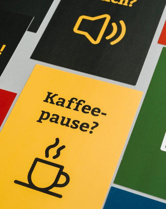 BR Videokonferenzkarten Kaffeepause?