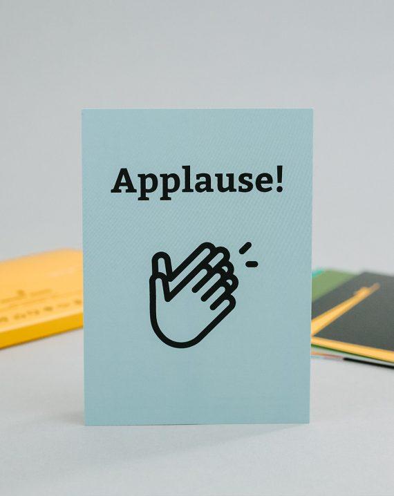 BR Videokonferenzkarten Applause!