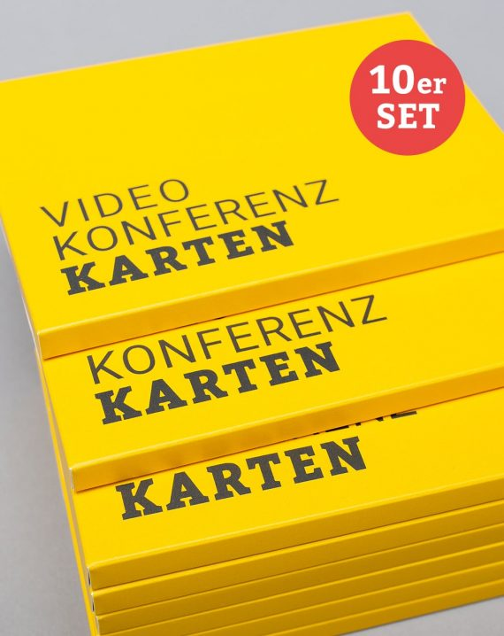 Videokonferenzkarten im 10er-Set günstiger